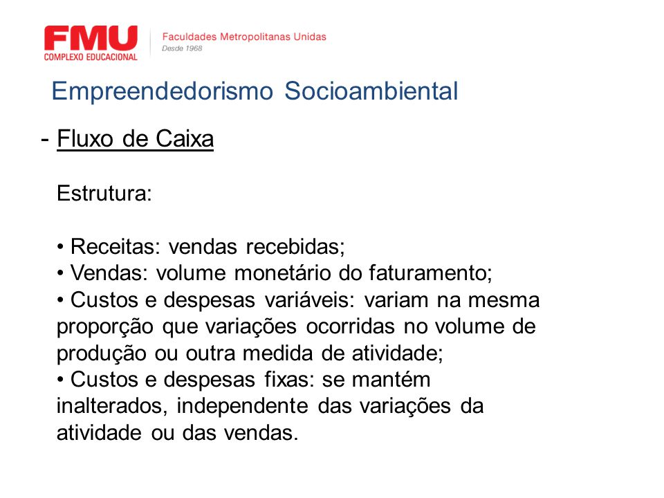 Empreendedorismo Socioambiental