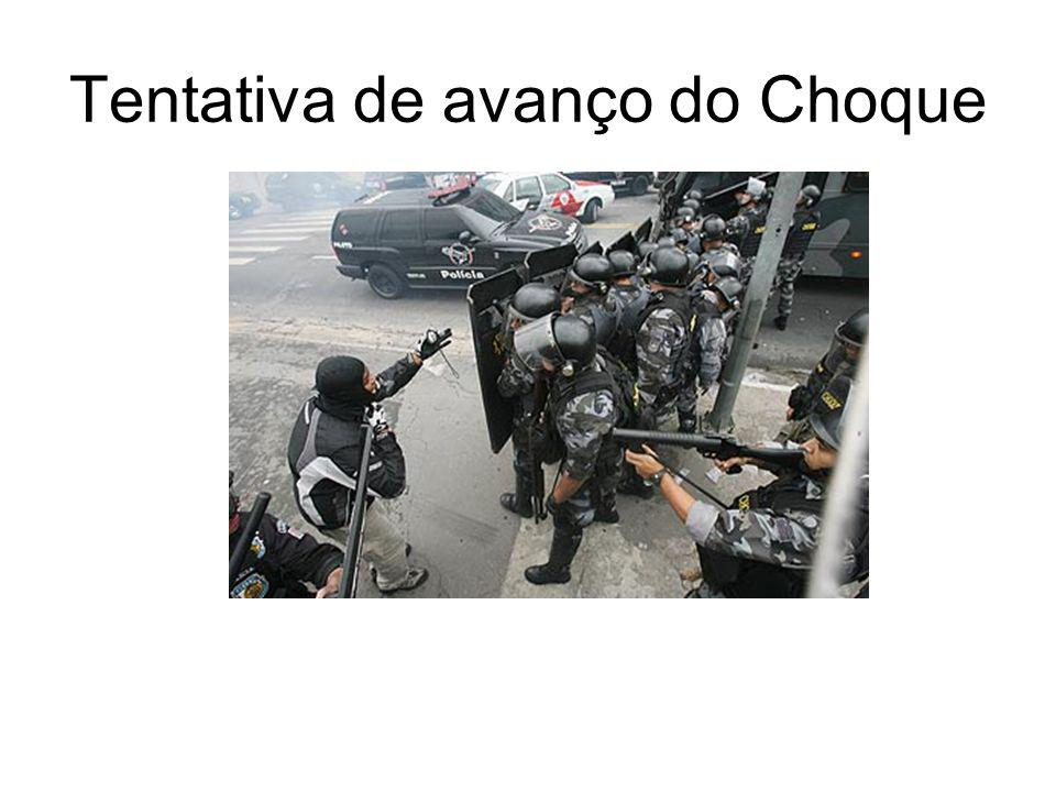 Tentativa de avanço do Choque