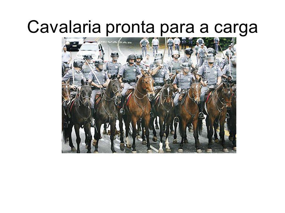 Cavalaria pronta para a carga