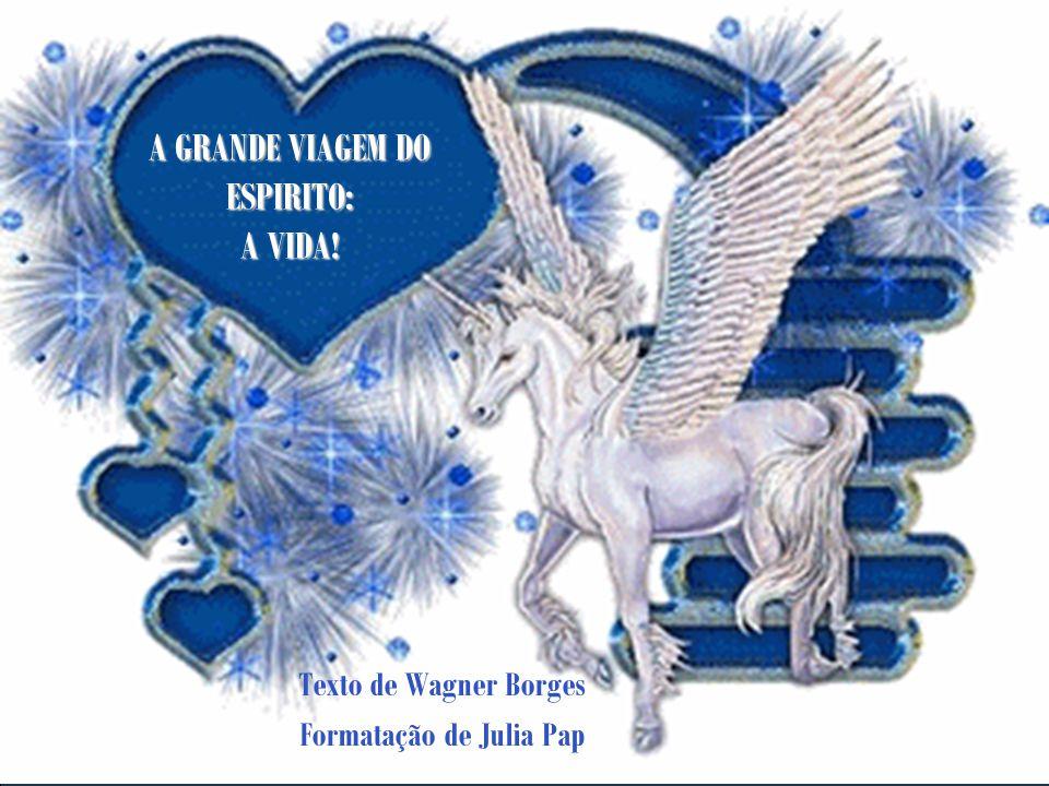 A GRANDE VIAGEM DO ESPIRITO: A VIDA!