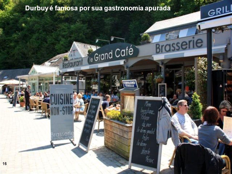 Durbuy é famosa por sua gastronomia apurada