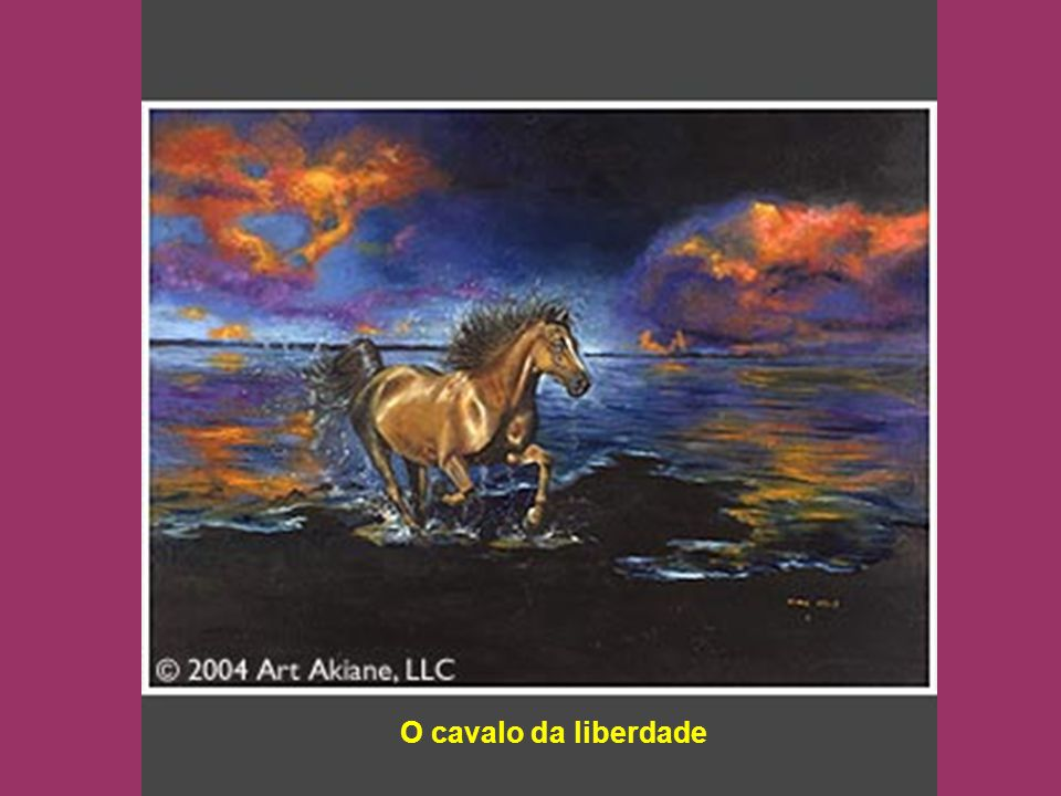 O cavalo da liberdade