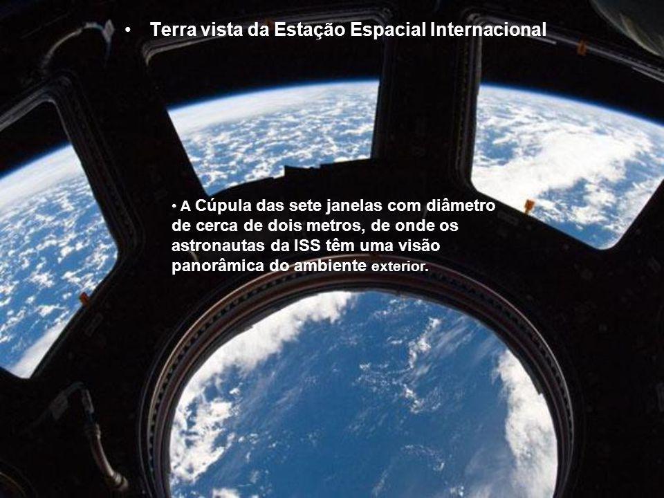 Terra vista da Estação Espacial Internacional