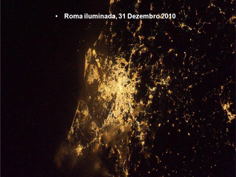 Roma iluminada, 31 Dezembro 2010