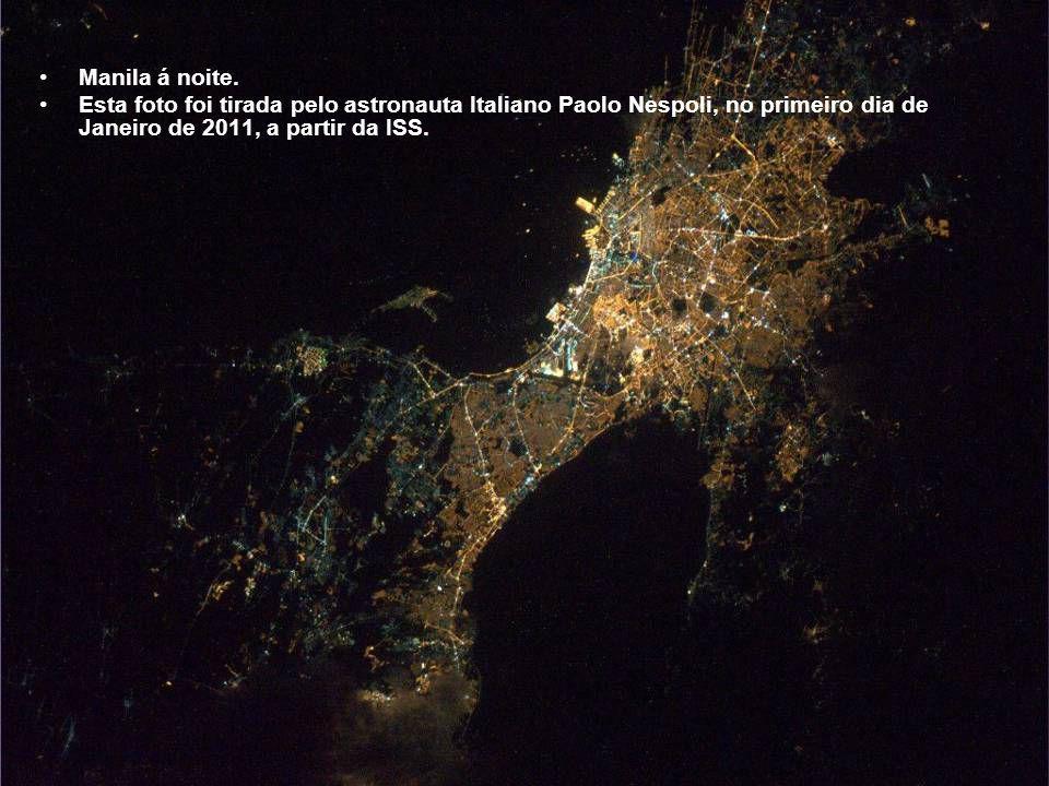 Manila á noite.