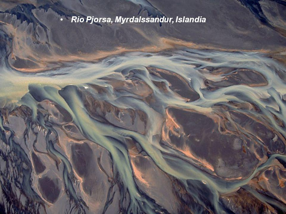 Rio Pjorsa, Myrdalssandur, Islandia