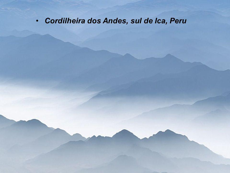 Cordilheira dos Andes, sul de Ica, Peru