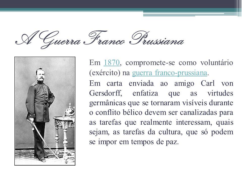 A Guerra Franco Prussiana