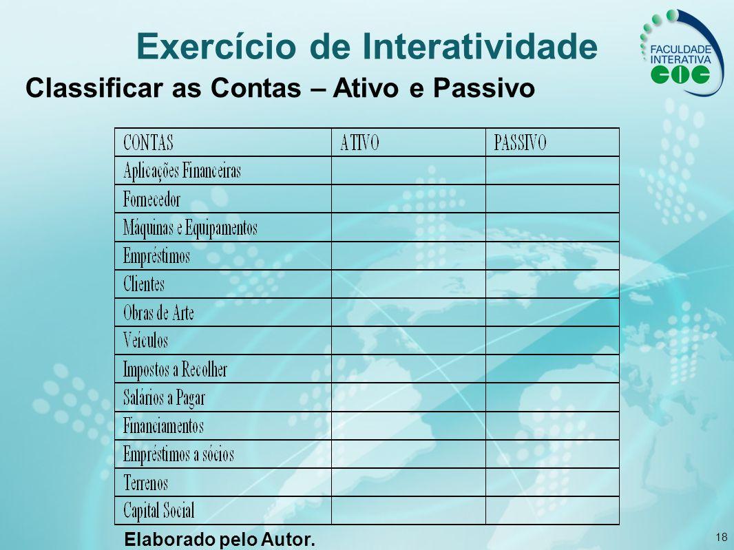 Exercício de Interatividade