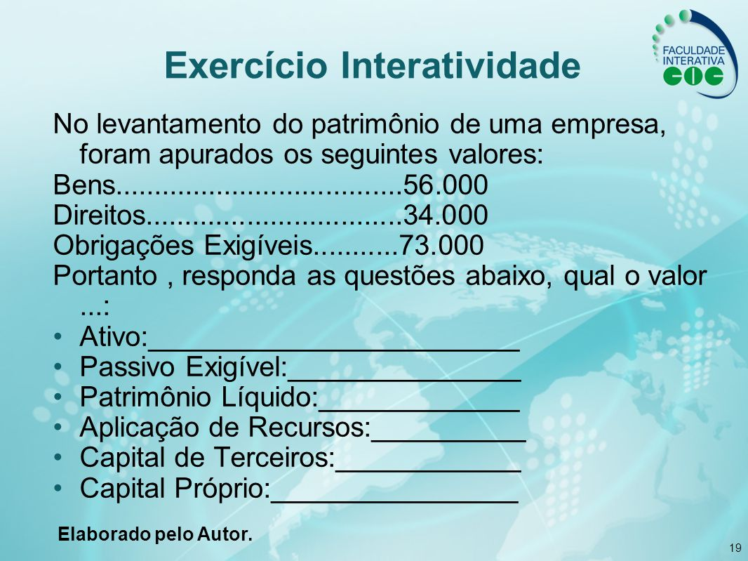 Exercício Interatividade