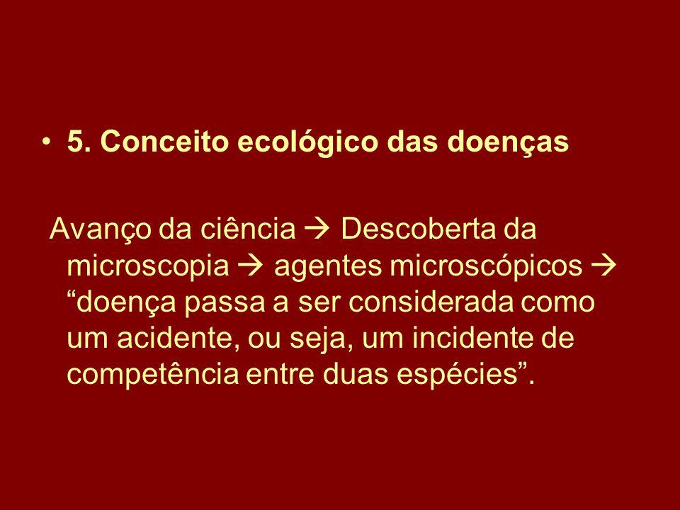 5. Conceito ecológico das doenças
