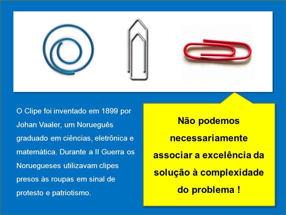 O Clipe foi inventado em 1899 por Johan Vaaler, um Norueguês graduado em ciências, eletrônica e matemática. Durante a II Guerra os Noruegueses utilizavam clipes presos às roupas em sinal de protesto e patriotismo.