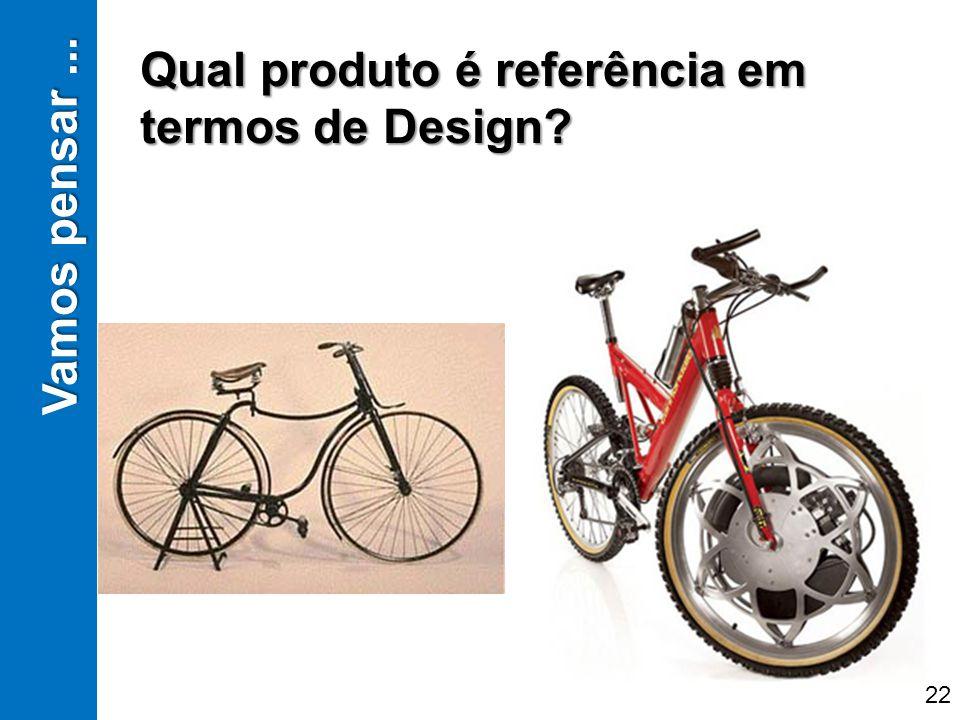 Qual produto é referência em termos de Design