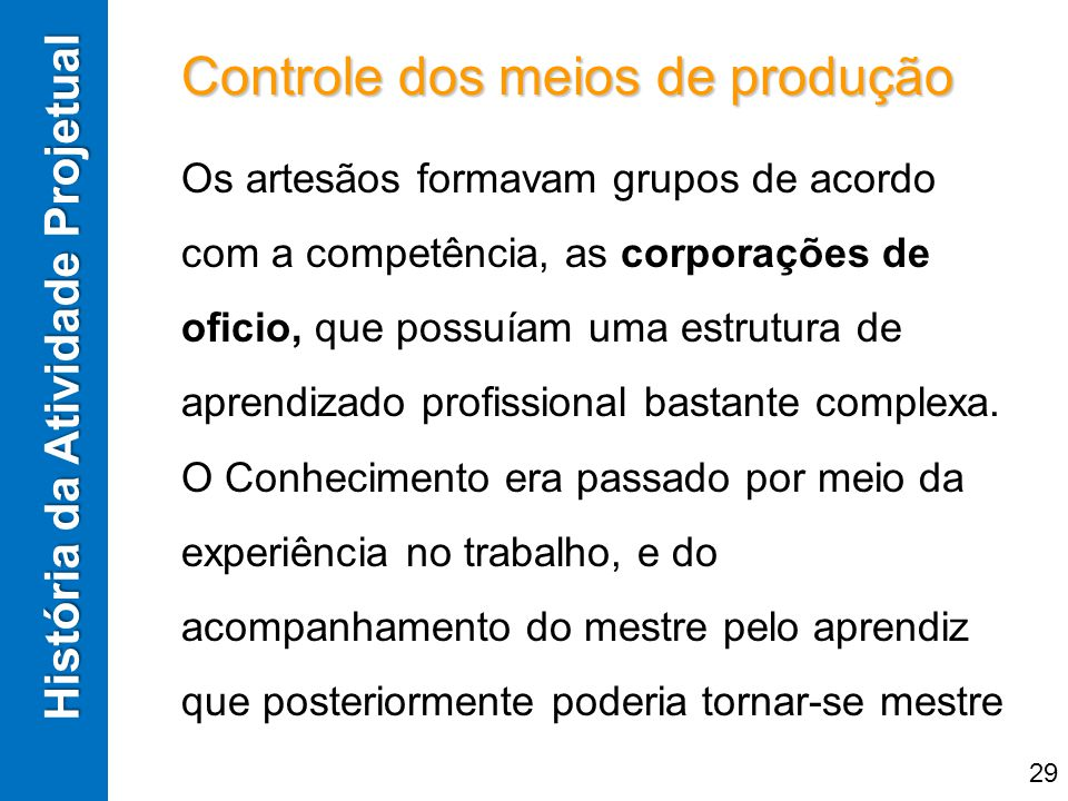 Controle dos meios de produção