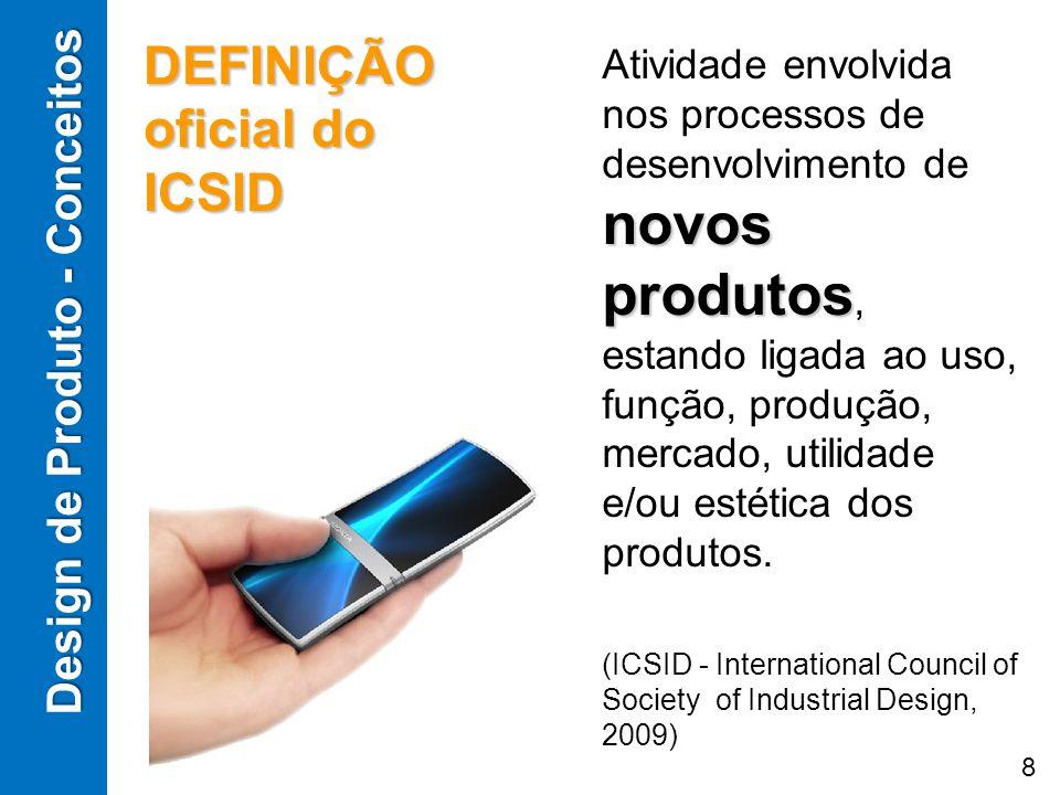 DEFINIÇÃO oficial do ICSID