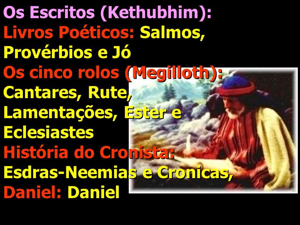 Os Escritos (Kethubhim):