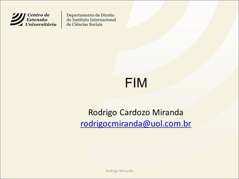 Rodrigo Cardozo Miranda