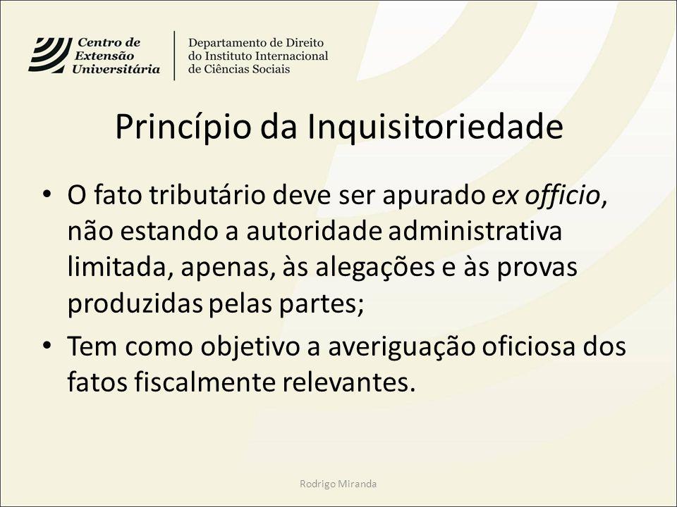 Princípio da Inquisitoriedade