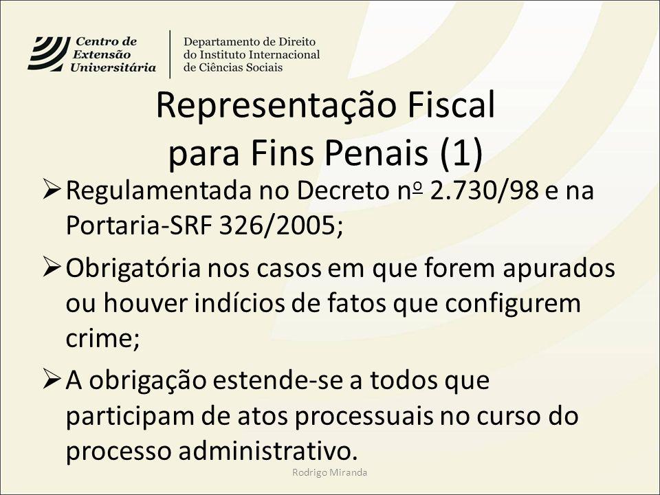 Representação Fiscal para Fins Penais (1)