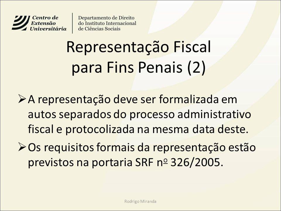 Representação Fiscal para Fins Penais (2)