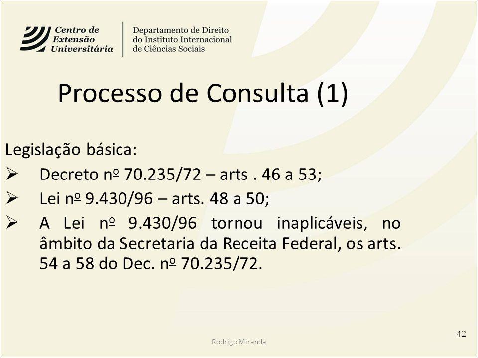 Processo de Consulta (1)