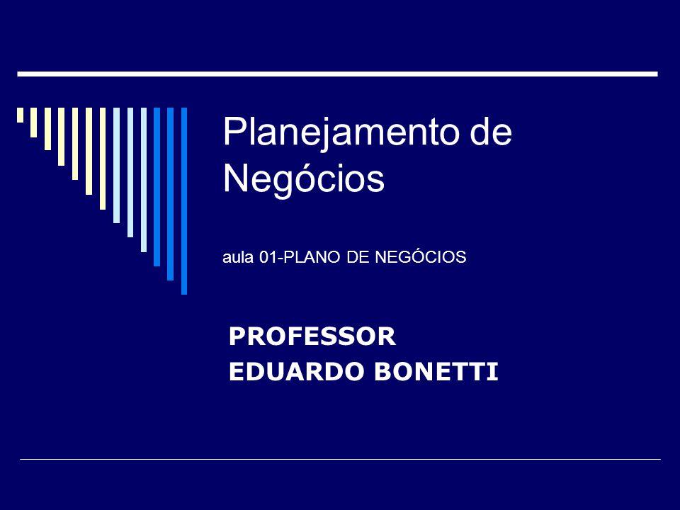 Planejamento de Negócios aula 01-PLANO DE NEGÓCIOS