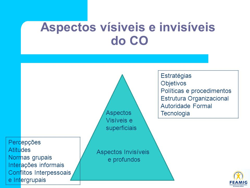 Aspectos vísiveis e invisíveis do CO