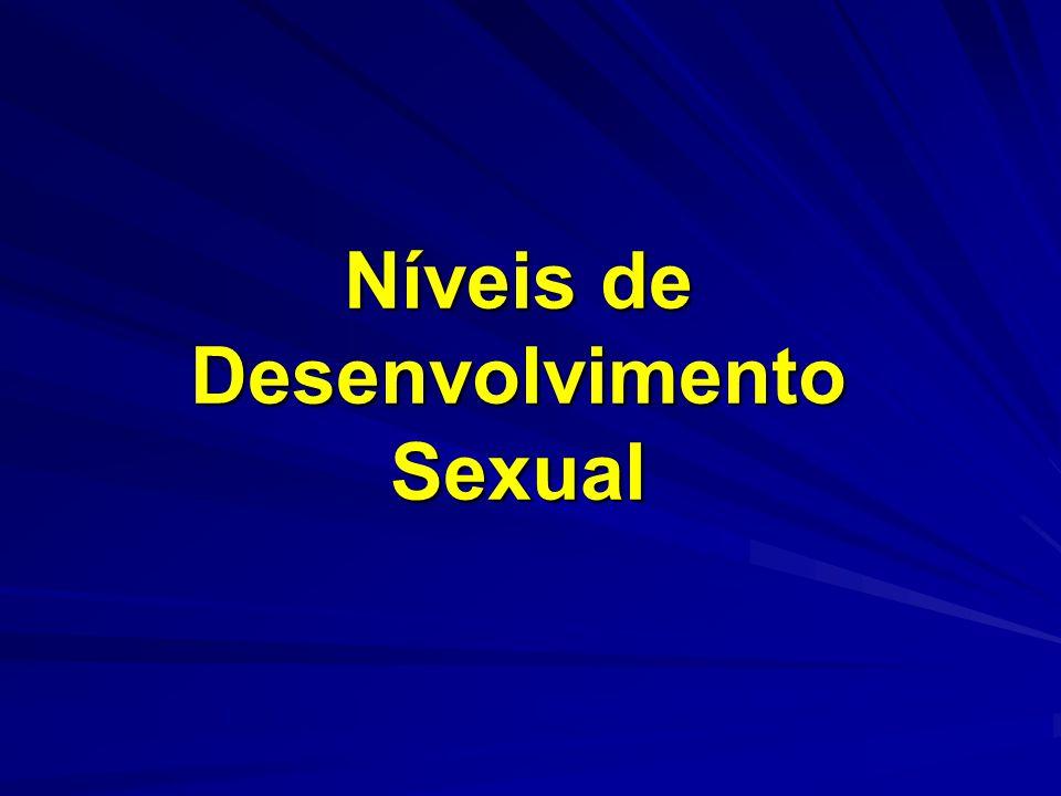 Níveis de Desenvolvimento Sexual