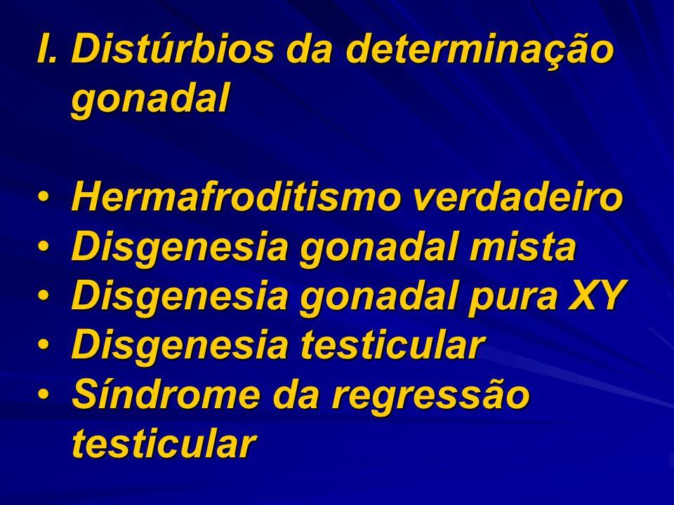 Distúrbios da determinação gonadal