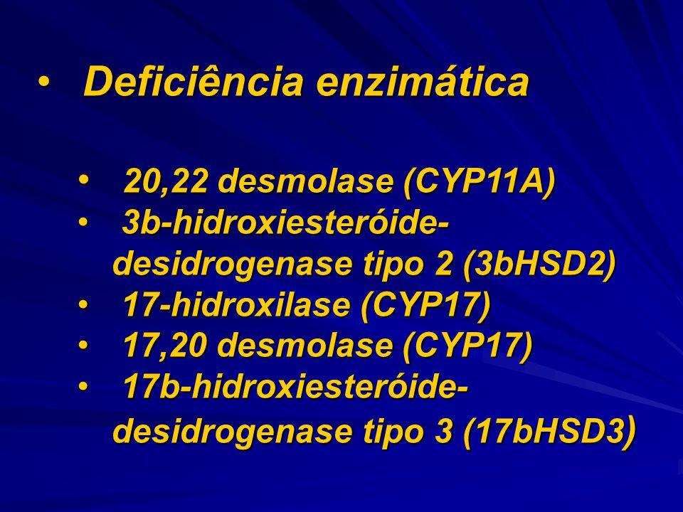 Deficiência enzimática