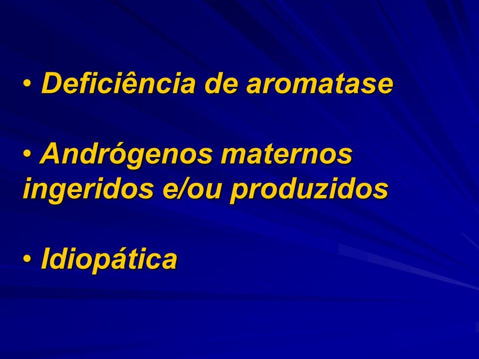 Deficiência de aromatase