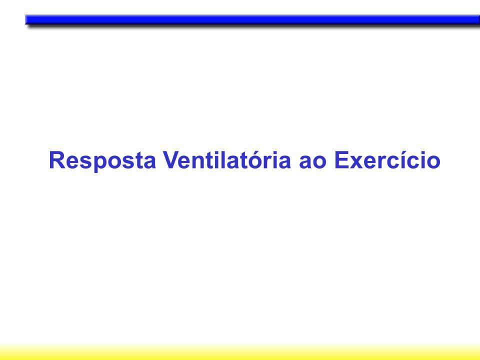 Resposta Ventilatória ao Exercício