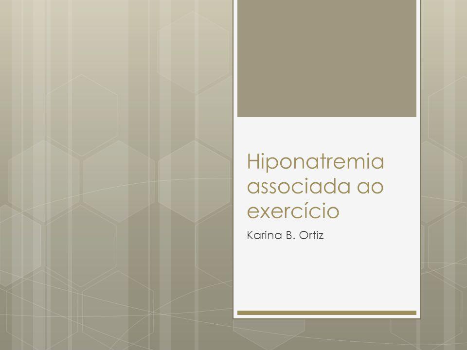 Hiponatremia associada ao exercício