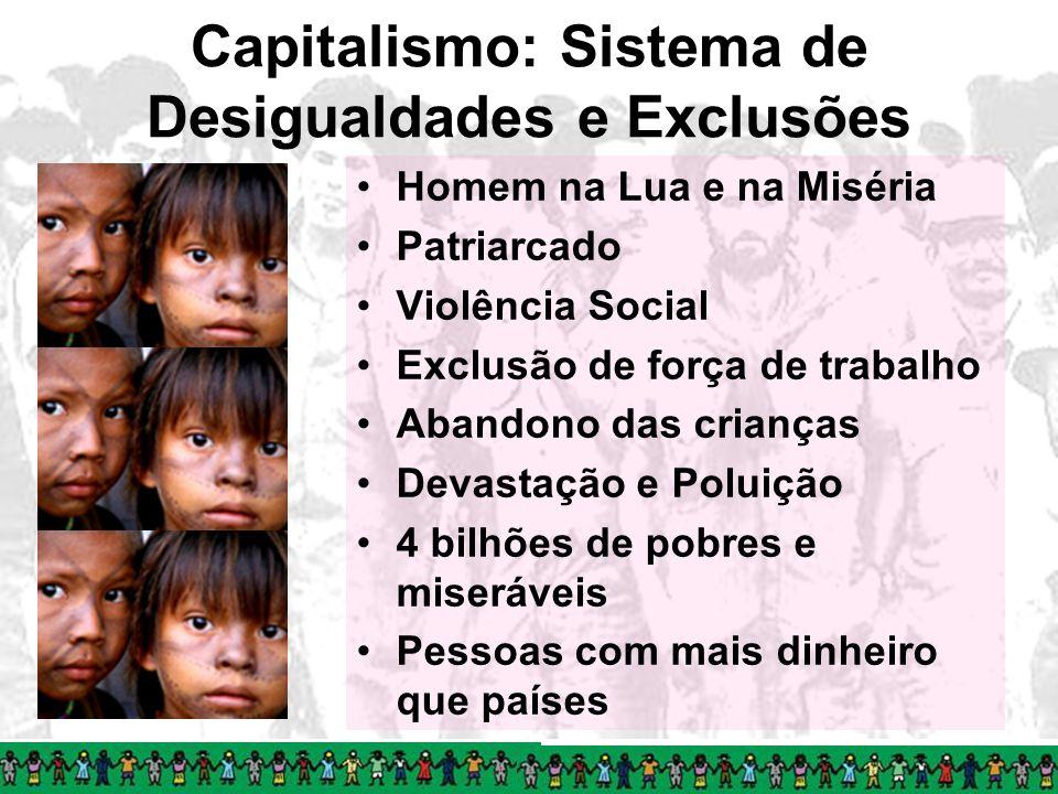 Capitalismo: Sistema de Desigualdades e Exclusões