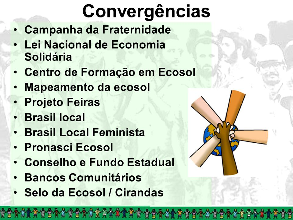 Convergências Campanha da Fraternidade
