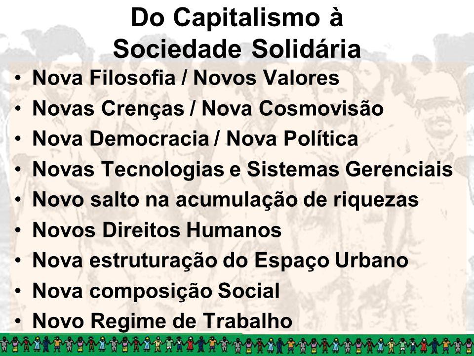 Do Capitalismo à Sociedade Solidária