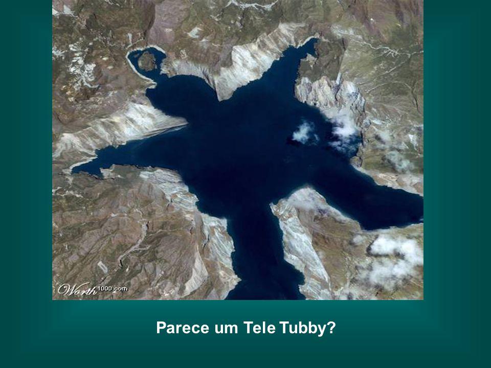Parece um Tele Tubby