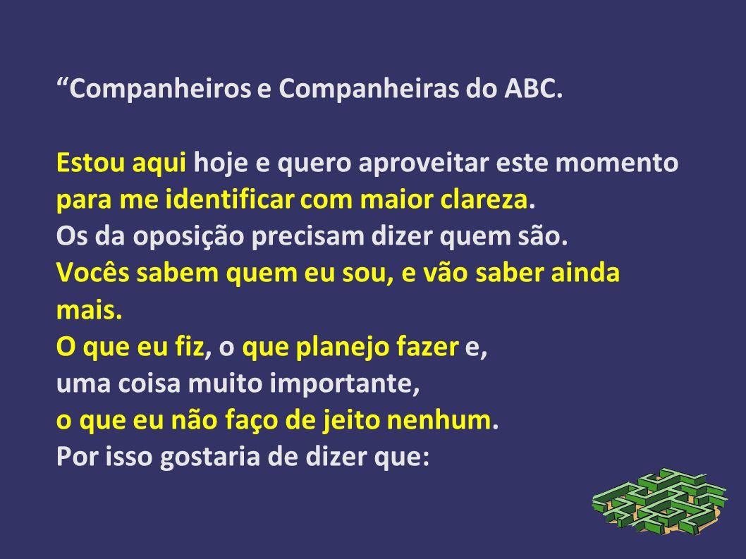 Companheiros e Companheiras do ABC