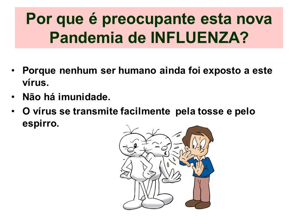 Por que é preocupante esta nova Pandemia de INFLUENZA