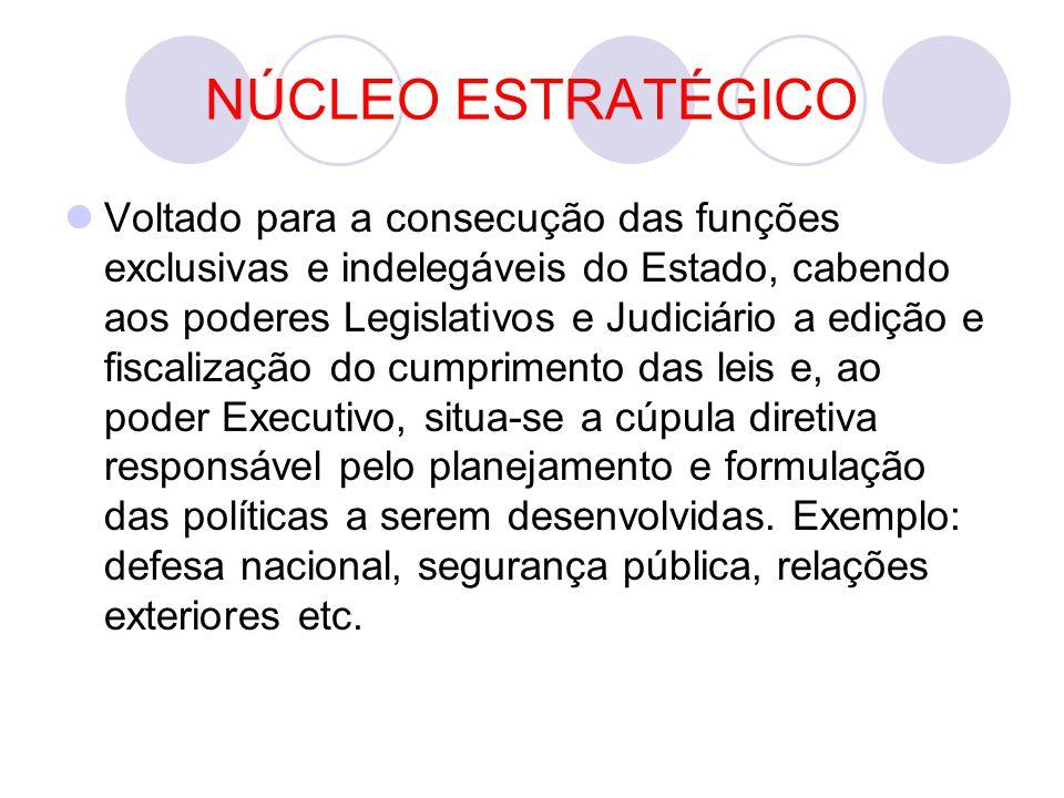 NÚCLEO ESTRATÉGICO