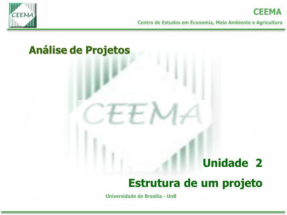Estrutura de um projeto