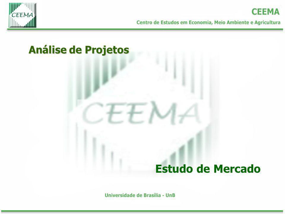 Análise de Projetos Estudo de Mercado