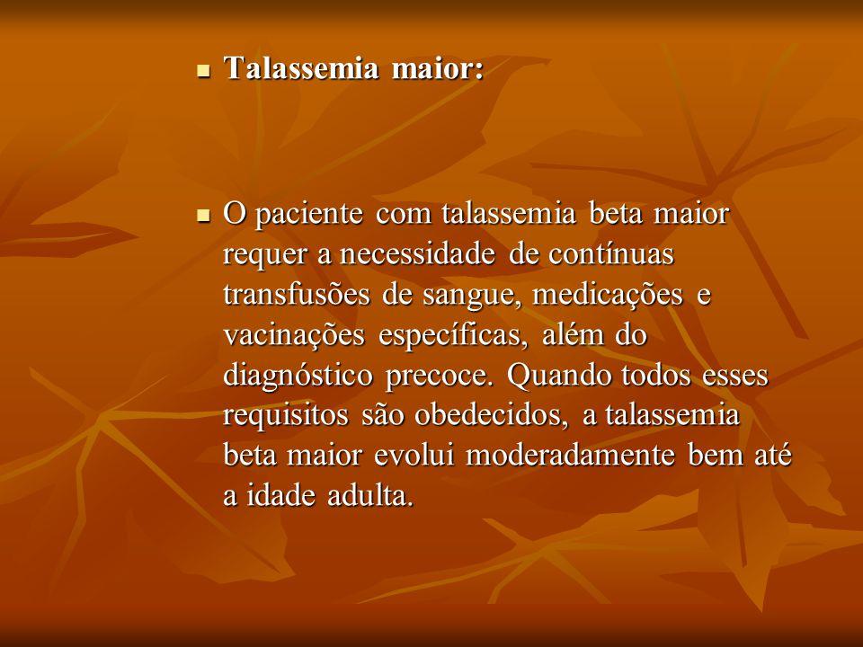 Talassemia maior: