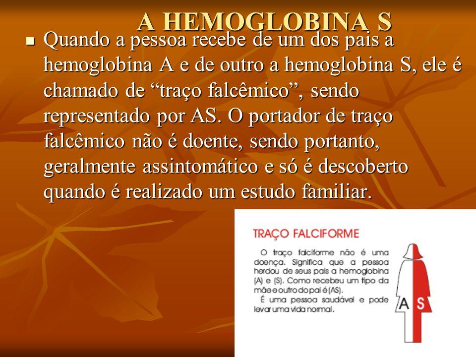 A HEMOGLOBINA S