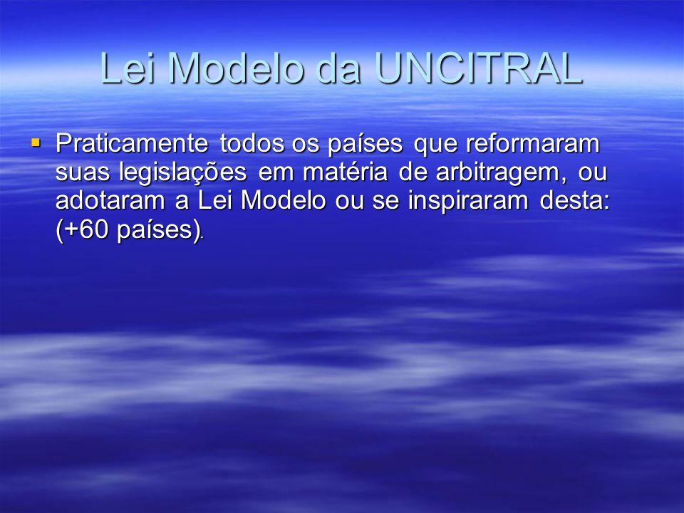 Lei Modelo da UNCITRAL