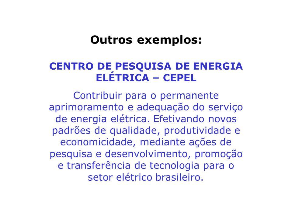 CENTRO DE PESQUISA DE ENERGIA ELÉTRICA – CEPEL