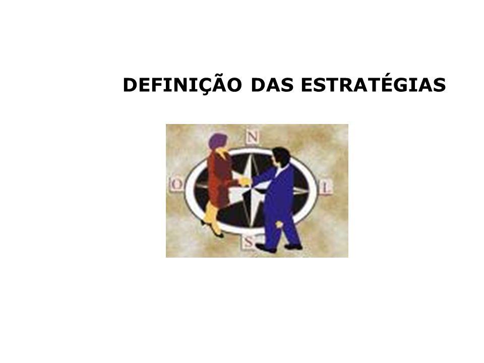 DEFINIÇÃO DAS ESTRATÉGIAS