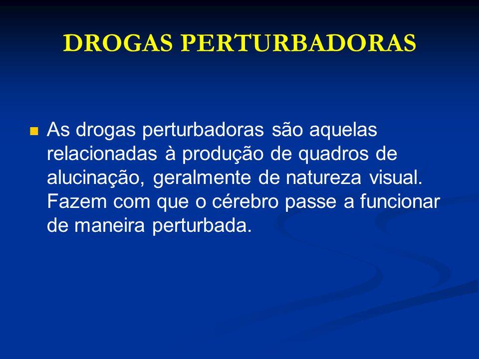 DROGAS PERTURBADORAS