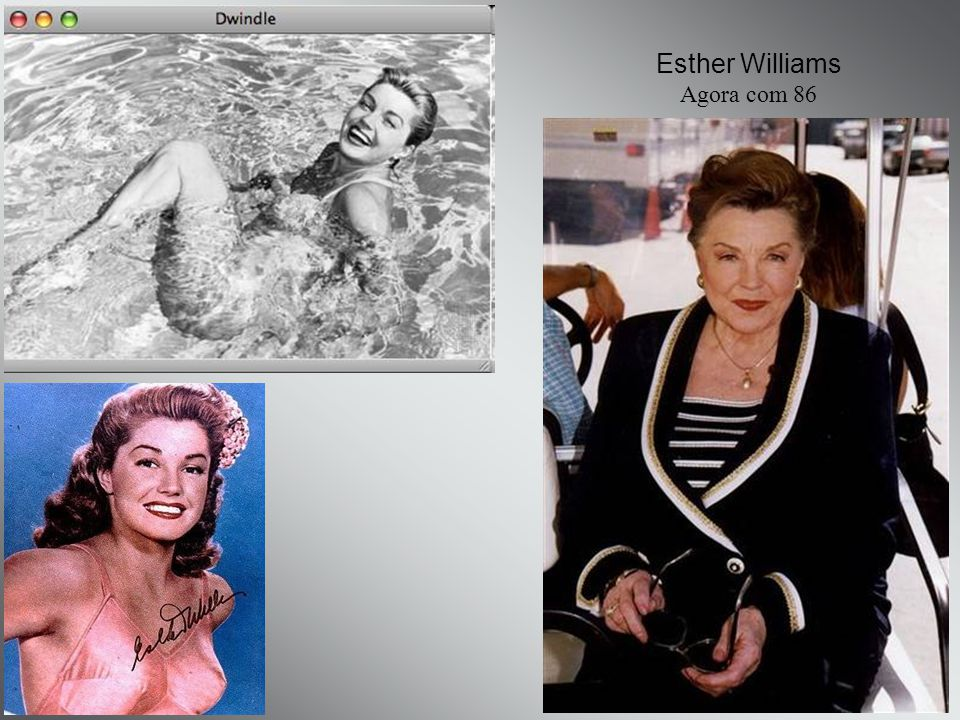 Esther Williams Agora com 86