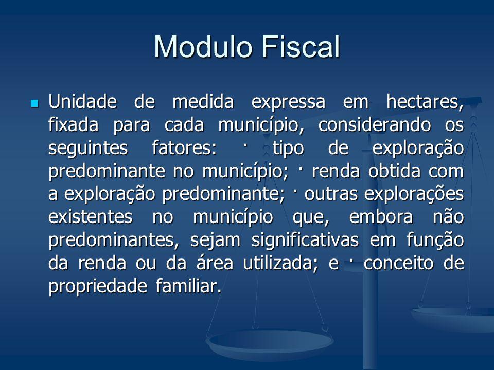 Modulo Fiscal